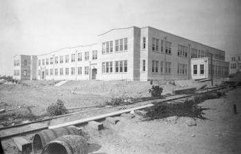 Photo of Geography Building in 1925